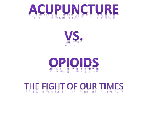 Acupuncture and the Opioid Crisis
